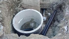 Капитальный ремонт сетей холодного водоснабжения, ул. Дзержинского, г. Апатиты